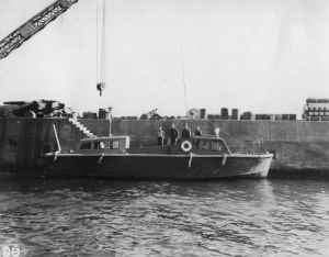The picket boat.