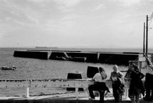 The empty dock as it stood in 2003, fifty-seven years later.