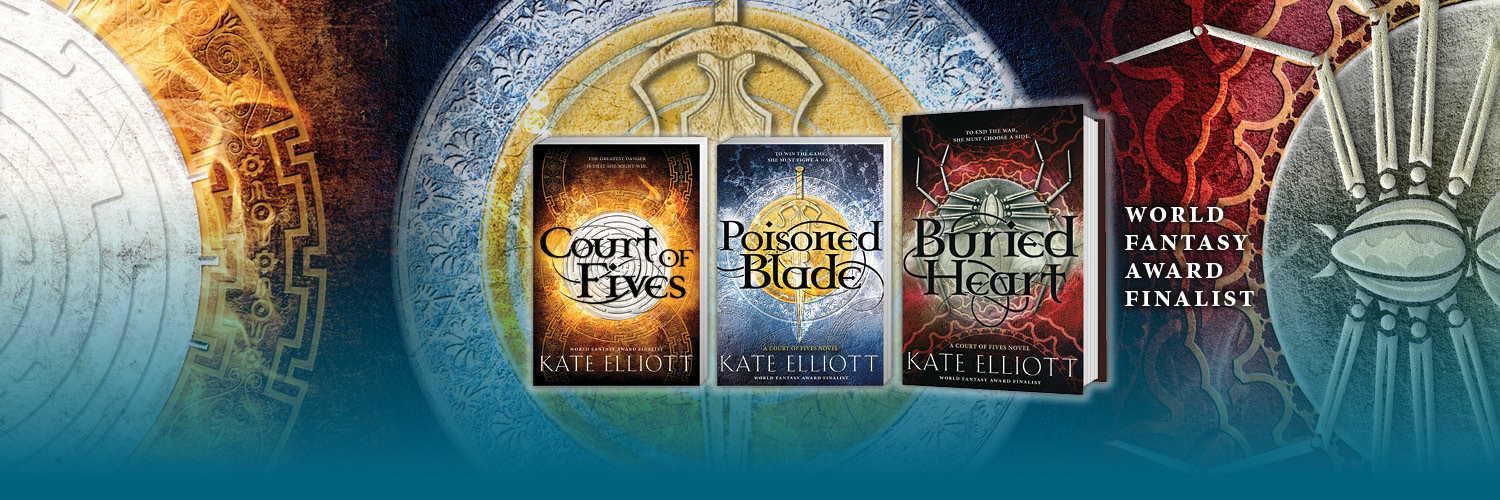 I Make Up Worlds Science Fiction Fantasy Writer Kate Elliott
